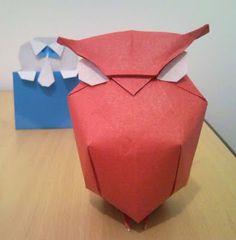 Tibubu Origami: Coruja gordinha