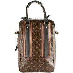 Louis Vuitton Monogram Canvas Bequia Porte Document Vertical Tote