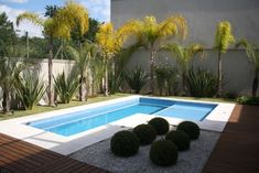 Having a pool sounds awesome especially if you are working with the best backyard pool landscaping ideas there is. How you design a proper backyard with a pool matters. Small Pool Houses, Small Backyard Pools, Backyard Pool Landscaping, Backyard Pool Designs, Small Pools, Swimming Pools Backyard, Swimming Pool Designs, Pool House Decor, Simple Pool