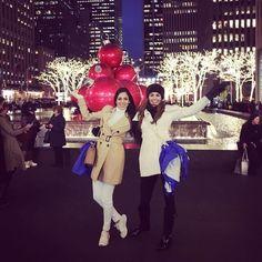 Miss World 2016 contestants enjoying New York
