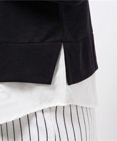 【裾別地パーカー】【natural couture ナチュラルクチュール】…