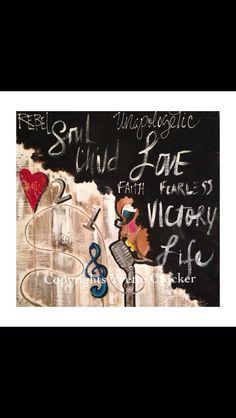 """Life Check 1 Two"" by Yvette Crocker"