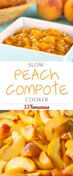 Here, we've got the perfect peach compote recipe for you; it's made in the slow cooker, so you can kick back and relax, and it's just as delicious on its own as it is served in a tasty, homemade pie…bring it on!
