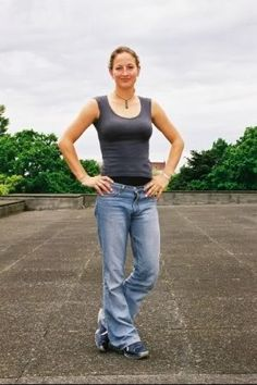Zoe Bell, love her athleticism, and in interviews she seems to have the best personality too. Just adorable in every way.