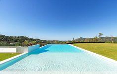 New stylish modern luxury villa in Zagaleta, Marbella in Marbella, Spain for sale (10522993) Swimming Pool Designs, Swimming Pools, What Is Nordic, Malaga Spain, Beach Villa, Modern Luxury, Luxury Villa, Luxury Real Estate, House