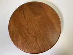 "American Made Tabletop Lazy Susan Convenient and attractive, this solid wood Lazy Susan is available in 12"", 14"" or 16"" diameter. Select wood and stain to match your table perfectly. Unique gift idea. #lazysusan"