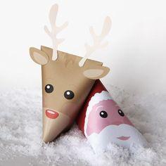 Berlingots cadeaux DIY Noël