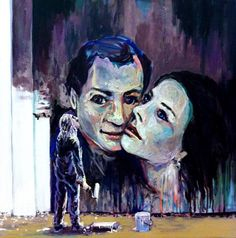 The Painter  50 x 50 cm  Carlos Farinha