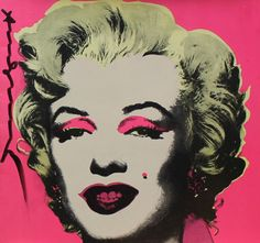 ...Andy Warhol, Marylin Announcement, 1981 - Sérigraphie