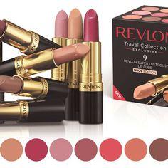 Nine Revlon Nude Lipsticks