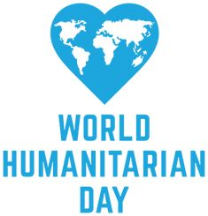 World Humanitarian Day is a global celebration of people helping people. It is intended to raise public awareness of humanitarian assistance worldwide and the people who risk their lives in order to provide it World Humanitarian Day, International Youth Day, Assumption Of Mary, Bagdad, Workers Party, United Nations General Assembly, Armed Conflict, Pre And Post, The Millions