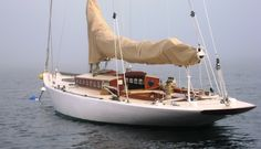 Herreshoff designs are proof that the beauty of a boat is that everything aboard has a purpose.