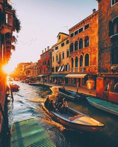 Exploring Venice at golden hour   Venice Italy  @jacob  #travel #blogger #beautifuldestinations #vacation #inspiration #traveltheworld #tourist #ideas #travelideas #bestplace #bestview  #wonderful_places  #worldwonder #traveltips #tips #beautifullocation #venice #venicecanals #veniceitaly #italy #italytravel #goldenhour #photooftheday Best Summer Holiday Destinations, Beautiful World, Beautiful Places, Amazing Places, Wonderful Places, Anne Of Windy Poplars, Grand Canal, Walk In The Woods, Adventure Is Out There