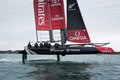 Americas cup New Zealand contender.