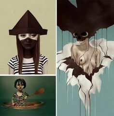 Paper Darts: ART + LIT - Literary Magazine - Art: RubenIreland
