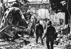STALINGRAD, inside the tractor factory