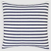 All Things Coastal Sea Glass| Serafini Amelia| Calvin Klein Marine Stripe Euro Sham