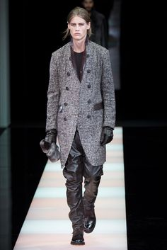 Sfilata Moda Uomo Giorgio Armani Milano - Autunno Inverno 2015-16 - Vogue