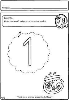 EDUCAÇÃO INFANTIL: Atividades com números