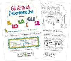 Gli articoli determinativi – Schede didattiche per la Scuola Primaria