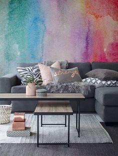 Aquarel Wallpaper muurschildering zelfklevende Wallpaper