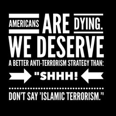 Yeah we do. They are Islamic terrorists bc Islam is EVIL at its core