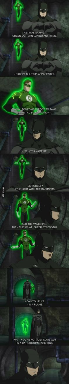 Green Lantern Can Do Anything