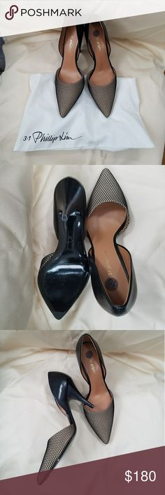 Philip Lim Pumps Philip Lim mesh pointed pumps. Comes with dust bag. NWOT. Tried on, never worn. Phillip Lim Shoes Heels