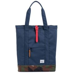 4789d3b6dc53 Herschel Supply Market Plus Tote ( 52) ❤ liked on Polyvore featuring bags