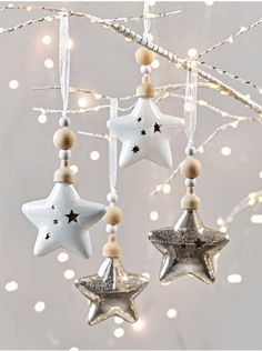 new four crackle glaze stars
