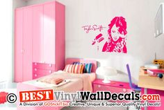 Taylor Swift Wall Decal Autographl   Girls Room Home Decor Design Taylor  Swift Merchandise, Wall