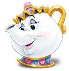 Mrs potts beauty and the beast Disney Princess Belle, Princesa Disney Bella, Princess Alice, Beauty And Beast Birthday, Beauty And The Beast Party, Belle Beauty And The Beast, Chip Beauty And The Beast, Walt Disney, Disney Art