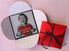 Valentines Day DIY Card.  So easy, fun and a forever keepsake.  Must make!