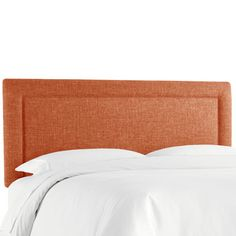 Brayden Studio Cansler Border Upholstered Panel Headboard Size: California King, Upholstery: Zuma Navy