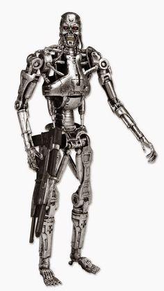 Figura Terminator Endoesqueleto | Merchandising Películas
