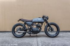 Honda XL 250 Cafe Racer by Lolana Motos - Lsr Bikes
