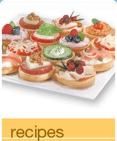 Lender's Bagels has some great recipes!