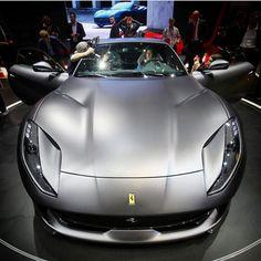 Ferrari 812 Superfast - also available in red! By @newcarnet #ferrari #ferrari812superfast #812superfast #genevamotorshow #GIMS2017 #motorshow #autoshow #cars #car #autos #auto #instacars #carstagram #picoftheday #instagood http://www.unirazzi.com/autos/post/1484082763053014599_2153417105/?code=BSYhWj1Dh5H