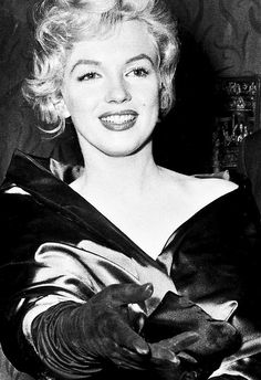 "Marilyn Monroe at the premiere of ""A View From The Bridge"" in London, on October 11th 1956"