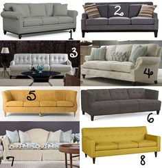 21 {Tufted, Modern, Sectional} Sofa Ideas