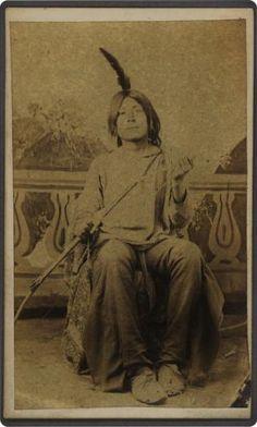 Hi-I-In (Aka George Miles) - Tonkawa - 1871