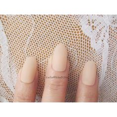 beige powder oval nails mat matt matte almond wedding bride lolita... (€9,24) ❤ liked on Polyvore featuring beauty products, makeup, face makeup and face powder