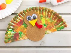Make learning fun with this cute Paper Plate Turkey Craft. It is super easy to make and super cute to display! Thanksgiving Crafts For Toddlers, Thanksgiving Art, Thanksgiving Crafts For Kids, Daycare Crafts, Toddler Crafts, Preschool Crafts, Halloween Crafts, Holiday Crafts, Crafts For 2 Year Olds