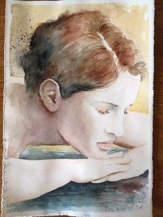 """bella l'estate quando caldo c'è ""                   acquerello #watercolor#acquerello"