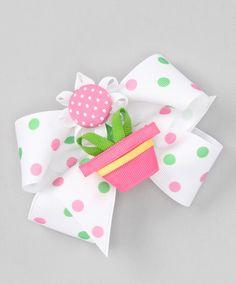 Another great find on #zulily! Pink Flowerpot Clip Set #zulilyfinds