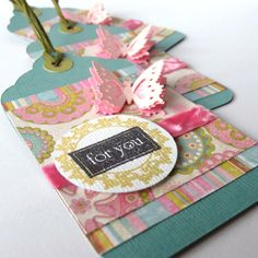 Handmade gift tags, 3 for $9... or I could try to make them myself??