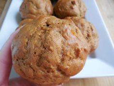 Weight watcher recipes, 2SP Gingerbread banana yogurt muffins by drizzle me skinny