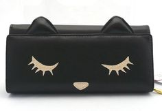 Rakuten: It is the long wallet of the ぷーちゃん black cat- Shopping Japanese products from Japan