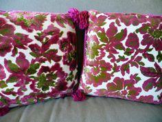 vintage chenille pillows. so gorgeous.