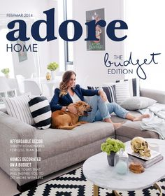 the best attitude 35941 d9981 ISSUU - Adore Home Feb Mar 2014 budget issue by Adore Home magazine